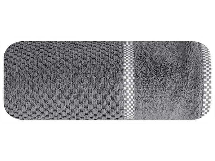 Ręcznik personalizowany PREMIUM - grafitowy - 70 x 140 Kategoria Ręczniki Bawełna Kolor Szary