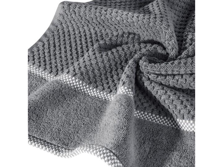 Ręcznik personalizowany PREMIUM - grafitowy - 70 x 140 Bawełna Kategoria Ręczniki Kolor Szary
