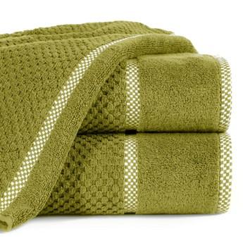 Ręcznik personalizowany PREMIUM - oliwkowy - 50 x 90