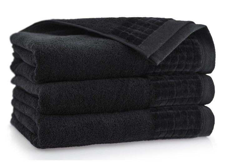 Personalizowany ręcznik kąpielowy 50 x 100 - czarny 50x100 cm Bawełna Kategoria Ręczniki