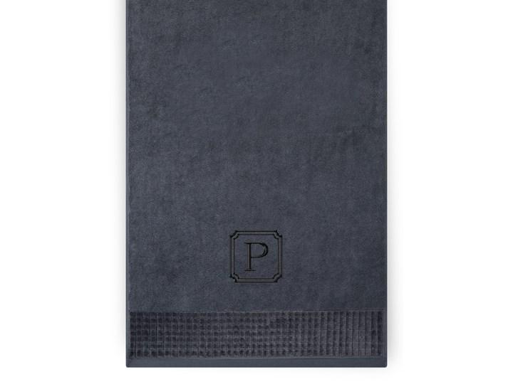 Personalizowany ręcznik kąpielowy 50 x 100 – grafit Bawełna 50x100 cm Kategoria Ręczniki
