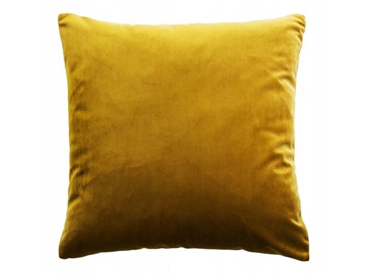 Poduszka VELVET - Złoty Poduszka dekoracyjna Kategoria Poduszki i poszewki dekoracyjne