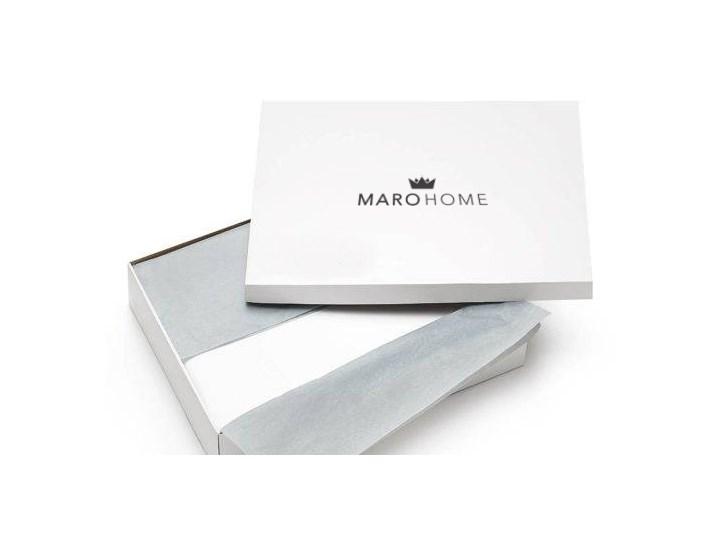 Komplet białej adamaszkowej pościeli personalizowanej ZOE - 160 x 200 160x200 cm Kolor Biały Bawełna Pomieszczenie Pościel do sypialni