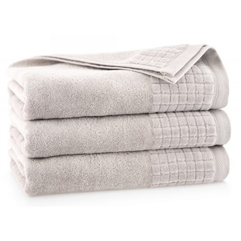 Personalizowany ręcznik kąpielowy - jasny beż - 50 x 100