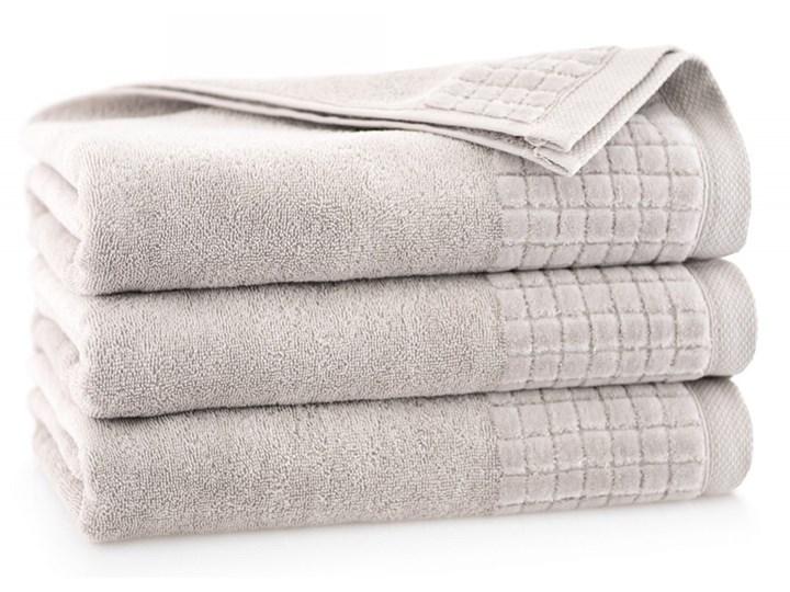 Personalizowany ręcznik kąpielowy - jasny beż - 50 x 100 Bawełna Kategoria Ręczniki