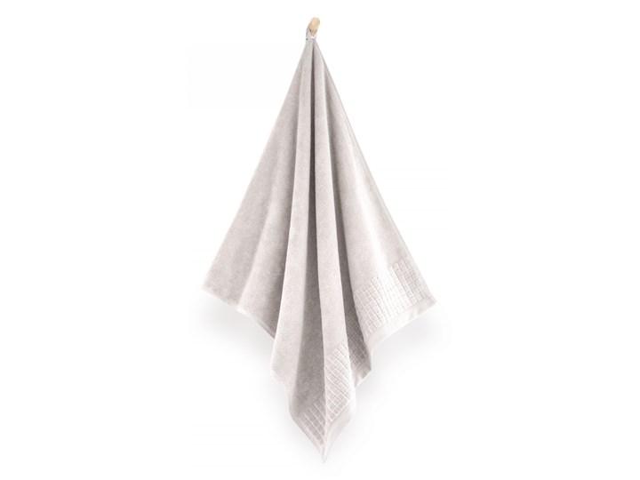Personalizowany ręcznik kąpielowy - jasny beż - 50 x 100 Bawełna Kategoria Ręczniki Kolor Szary