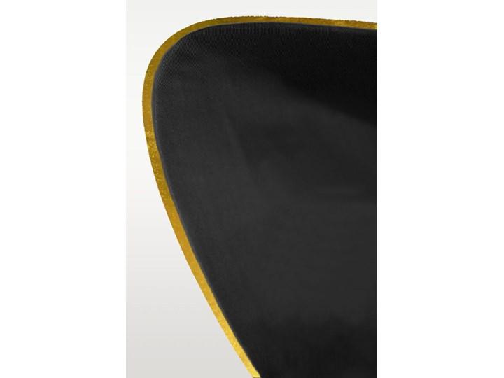 Pościel satynowa SAN ANTONIO - czarna z lamówką - 140 x 200 Bawełna Satyna 140x200 cm Komplet pościeli Kolor Czarny