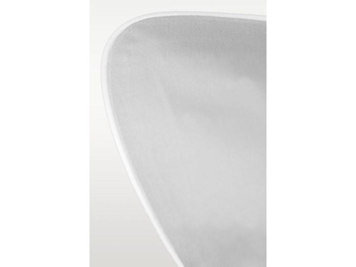 Pościel satynowa SAN ANTONIO - szary jasny z białą lamówką - 200 x 200 Bawełna Komplet pościeli Kolor Biały 200x200 cm Satyna Pomieszczenie Pościel do sypialni