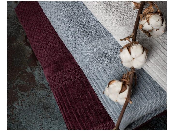Ręcznik personalizowany IVO - butelkowa zieleń - 70 x 140 Bawełna Kolor Szary