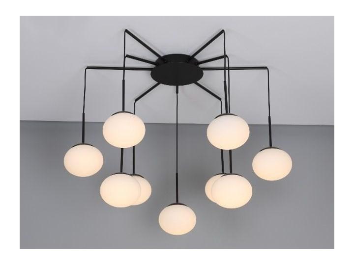 MCODO ::  Klimatyczna lampa led Adele o mocy 40W z ciepłą barwą 3000K Szkło Lampa z kloszem Kategoria Lampy wiszące
