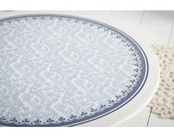 Patera porcelanowa DUO KARYNTIA 28 cm -- biały niebieski