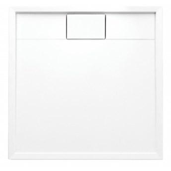 Brodzik kwadratowy Brooklyn, 90 cm, biały, BROOKLYN90/KBP