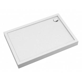 Brodzik prostokątny Camden, 100x70 cm, biały, CAMDEN70/100/PBP