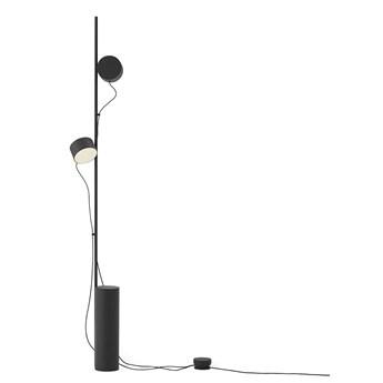 Post innowacyjna lampa podłogowa - czarny