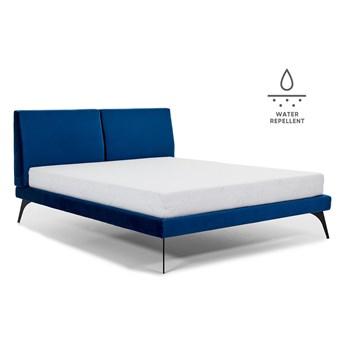 Łóżko tapicerowane do sypialni Konrado  140x200 cm ZE STELAŻEM