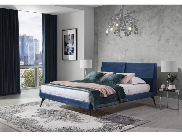 Łóżko tapicerowane do sypialni Konrado 180x200 cm ZE STELAŻEM