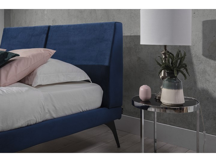 Łóżko tapicerowane do sypialni Konrado  180x200 cm ZE STELAŻEM Rozmiar materaca 160x200 cm Rozmiar materaca 200x200 cm
