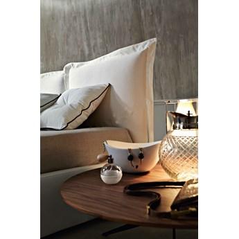 Łóżko SZYMEK 180x200 cm DWUSTRONNE WEZGŁOWIE, tapicerowane