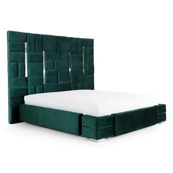 Łóżko z wezgłowiem do sypialni ZEUS 180x200 cm