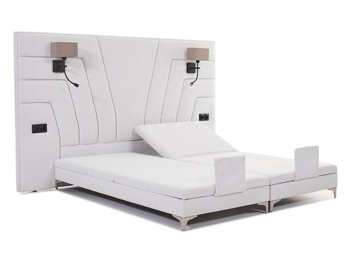 Łóżko elektryczne do sypialni Wiktoria 180x200 cm REGULACJA POZYCJI Łóżko tapicerowane Rozmiar materaca 140x200 cm Kategoria Łóżka do sypialni