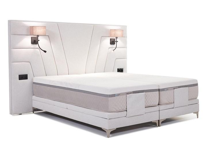 Łóżko elektryczne do sypialni Wiktoria 180x200 cm REGULACJA POZYCJI Łóżko tapicerowane Kategoria Łóżka do sypialni Rozmiar materaca 160x200 cm
