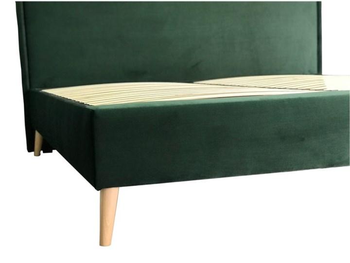 Łóżko LARY kontynentalne, tapicerowane  160x200 cm Łóżko kontynentalne Łóżko tapicerowane Rozmiar materaca 140x200 cm