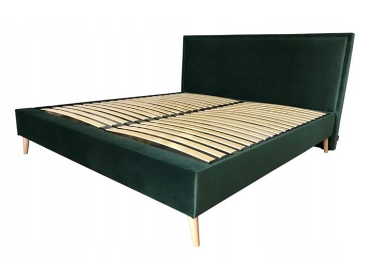 Łóżko LARY kontynentalne, tapicerowane  160x200 cm Łóżko tapicerowane Kategoria Łóżka do sypialni Łóżko kontynentalne Rozmiar materaca 200x200 cm