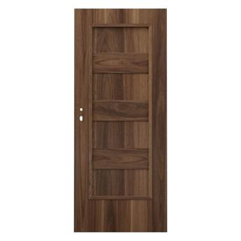 Drzwi pełne Kastel 70 prawe orzech ambasador