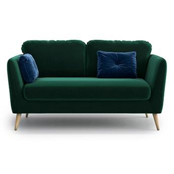 Sofa Clara 2-osobowa, Bottle Green/Navy Blue