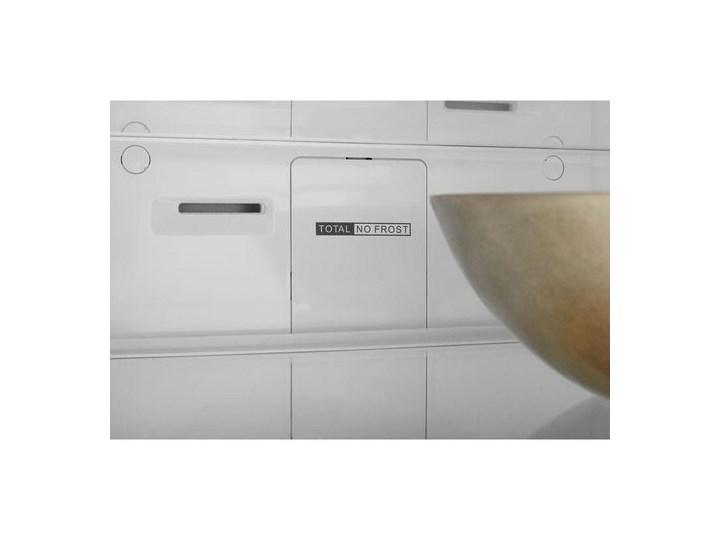 WHIRLPOOL W7 921I OX NoFrost Srebrna Dwudrzwiowe Kolor Srebrny Wysokość 200 cm Szerokość 59,6 cm Jednodrzwiowe Wysokość 201 cm Szerokość 55 cm Położenie zamrażalnika Na dole