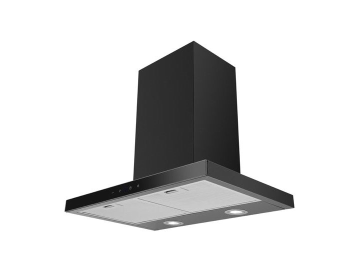 VDB T-Line Black 60 Szerokość 60 cm Okap kominowy Kolor Czarny