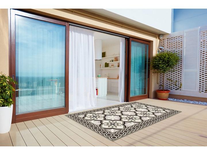 Nowoczesny dywan outdoor wzór Hiszpański wzór Winyl Prostokątny 60x90 cm Dywany 80x120 cm Pomieszczenie Balkon i taras