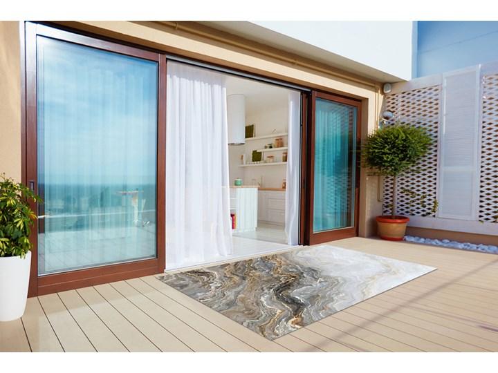 Dywan na taras do ogrodu na balkon Perłowy marmur Winyl Pomieszczenie Przedpokój 80x120 cm Prostokątny 60x90 cm Dywany Pomieszczenie Salon