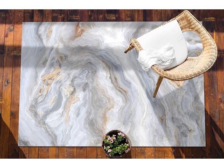 Nowoczesny dywan outdoor wzór Marmurowe morze 60x90 cm Dywany Prostokątny Winyl 80x120 cm Kategoria Dywany