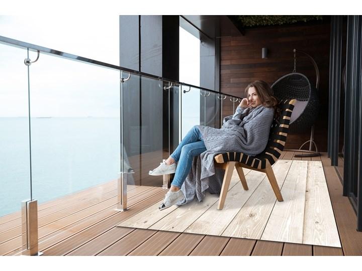Wykładzina tarasowa zewnętrzna Jasne deski Prostokątny Dywany 60x90 cm Winyl 80x120 cm Pomieszczenie Salon