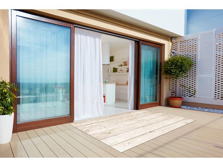 Wykładzina tarasowa zewnętrzna Jasne deski Dywany Prostokątny 60x90 cm 80x120 cm Winyl Kategoria Dywany