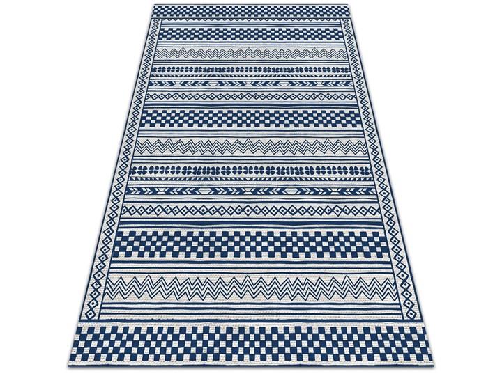 Nowoczesny dywan tarasowy Geometryczny szlaczek Winyl Dywany 60x90 cm 80x120 cm Prostokątny Pomieszczenie Balkon i taras Pomieszczenie Salon