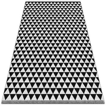 Wewnętrzny dywan winylowy Wzór trójkąty