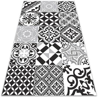 Modny uniwersalny dywan winylowy Zwariowane wzory