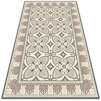Uniwersalny dywan winylowy Vintage pawie pióra