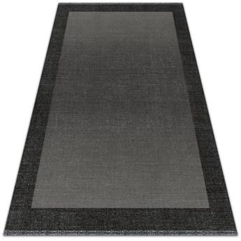 Modny winylowy dywan wewnętrzny Szara rama