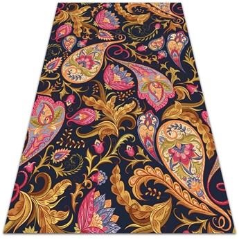 Modny uniwersalny dywan winylowy Kolorowy Paisley
