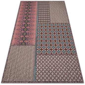 Wewnętrzny dywan winylowy Aztecki deseń
