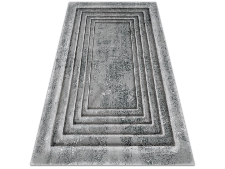 Wewnętrzny dywan winylowy Betonowe ramy