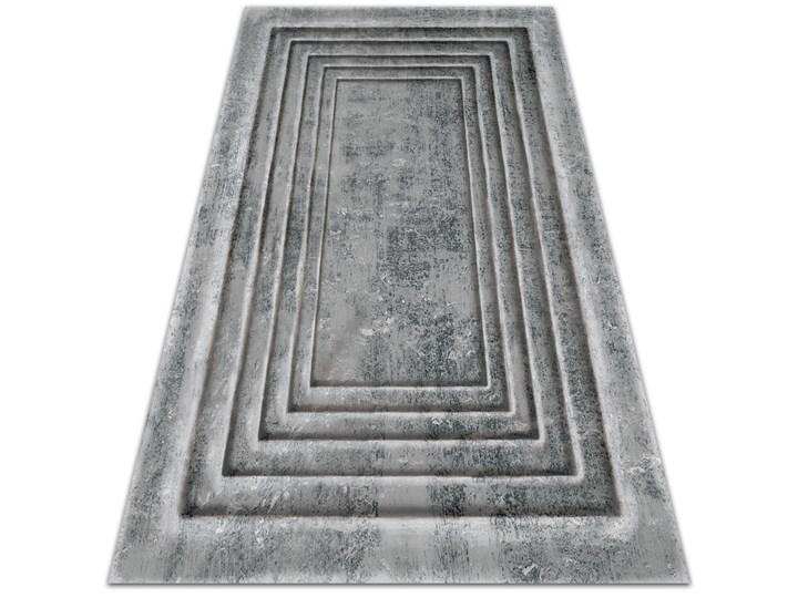 Wewnętrzny dywan winylowy Betonowe ramy 80x120 cm Dywany 60x90 cm Syntetyk Pomieszczenie Salon
