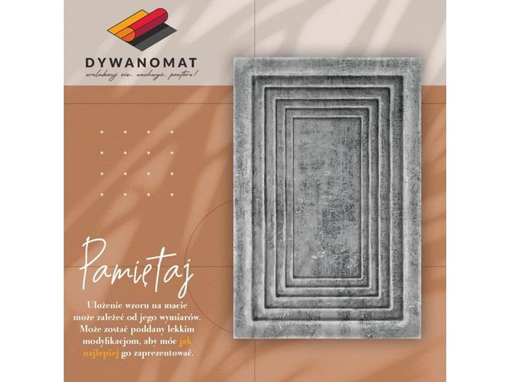 Wewnętrzny dywan winylowy Betonowe ramy Pomieszczenie Salon Dywany Syntetyk 60x90 cm 80x120 cm Pomieszczenie Przedpokój