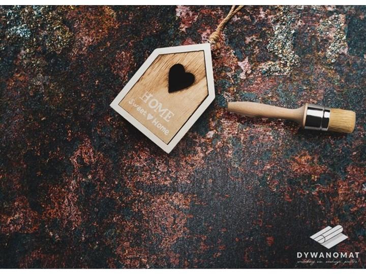Modny winylowy dywan Zardzewiała blacha Dywany 60x90 cm Pomieszczenie Sypialnia Syntetyk 80x120 cm Kategoria Dywany