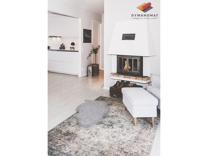 Modny uniwersalny dywan winylowy Perska geometria 80x120 cm 60x90 cm Dywany Syntetyk Pomieszczenie Salon