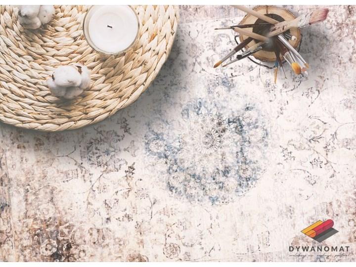 Modny uniwersalny dywan winylowy Perska geometria 80x120 cm Dywany 60x90 cm Pomieszczenie Salon Syntetyk Kategoria Dywany