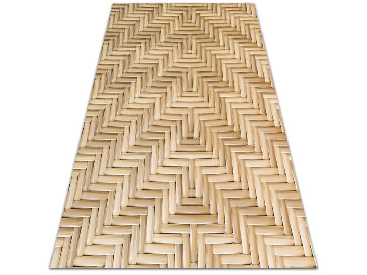 Modny winylowy dywan Wiklinowa tekstura
